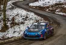 Alpine A110 Rally - Rallye de Monte-Carlo
