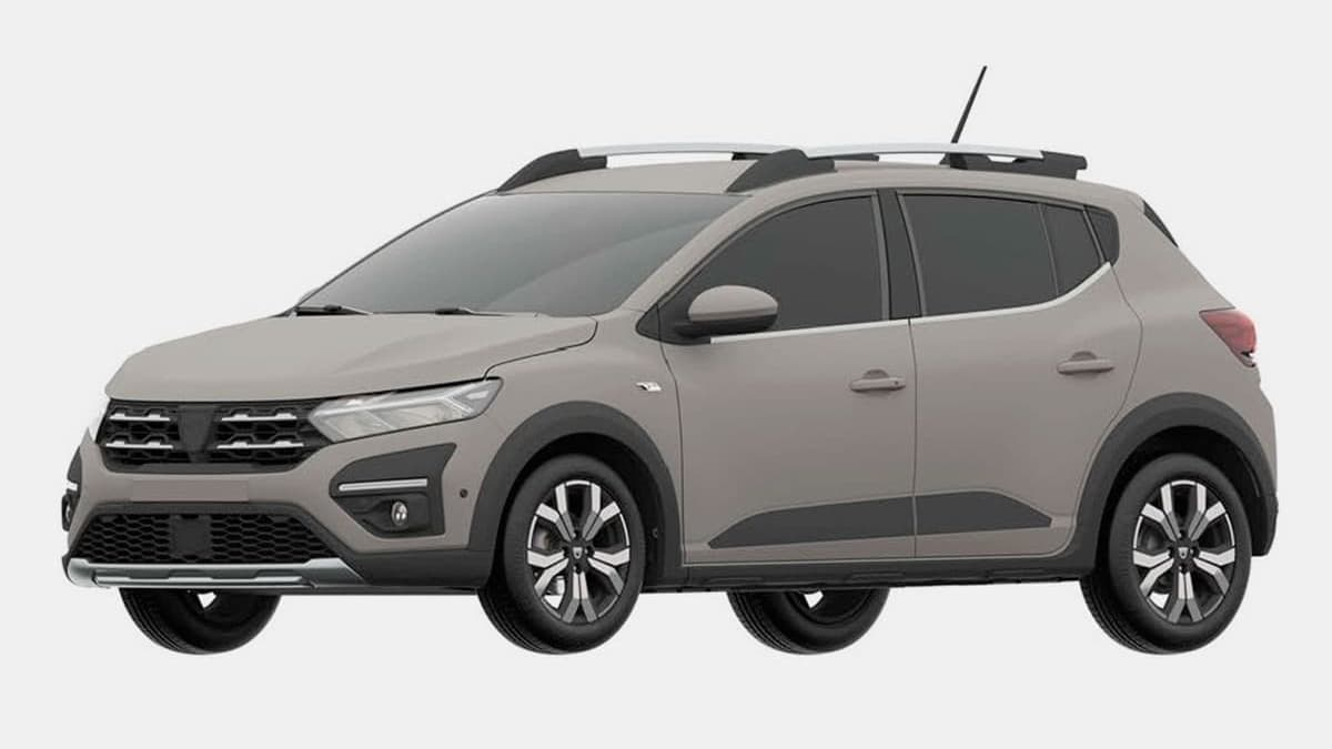 Renault Sandero Stepway 'Made in Russia' : Brevet déposé (images officielles) - MotorsActu