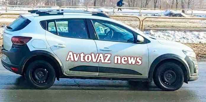 Renault Sandero 2021 - crédit photo Autovaz news