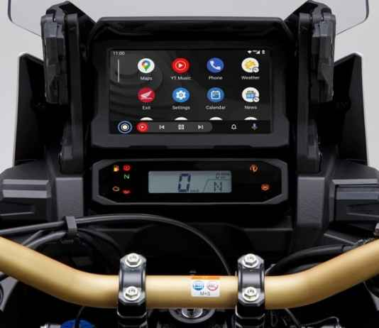 Honda CR 1100L Africa Twin - Android Auto