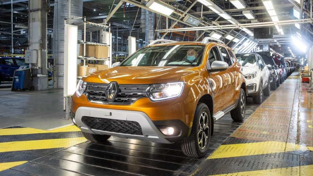 Renault DUSTER 2021