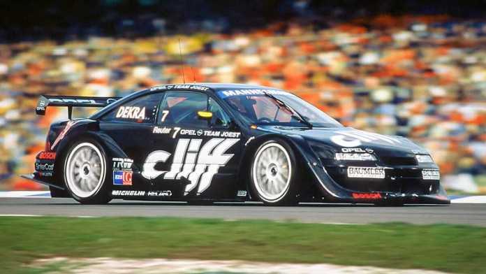 1996, OPEL domine l'ITC avec la CALIBRA -6