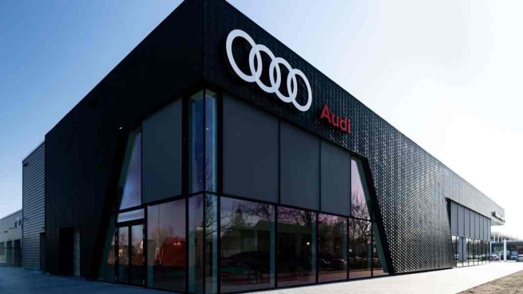 Audi concept-store - Munich