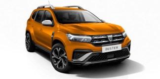 Dacia Duster 2021 facelift