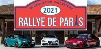 Alfa Romeo - Rallye de Paris 2021