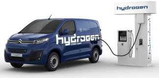 Citroen e-Jumpy hydrogène