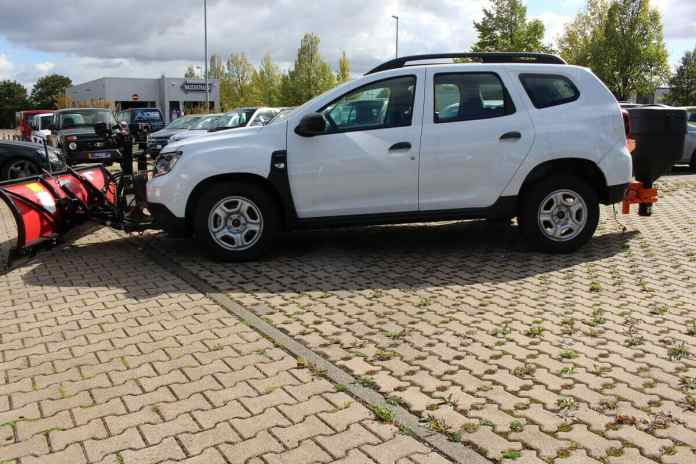 Dacia Duster 4X4 chasse-neige