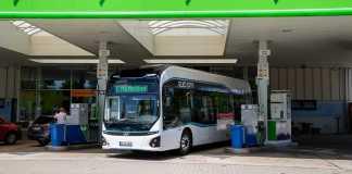 Hyundai test son bus à hydrogène à Munich
