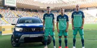 Dacia Duster facelift 2021 à la Dacia Arena en Italie