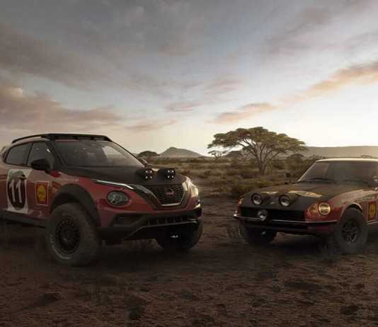 Nissan JUKE Rally Heritage Concept 5