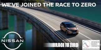 Nissan Ariya Race to Zero