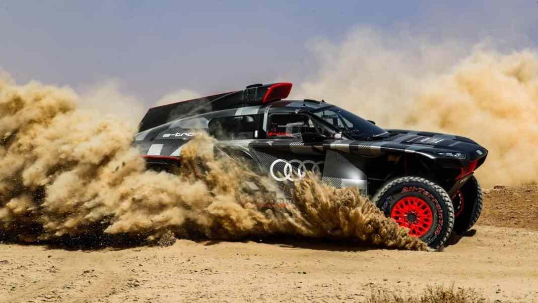 Audi RS Q e-tron - Dakar 2022