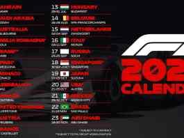 Calendrier F1 2022
