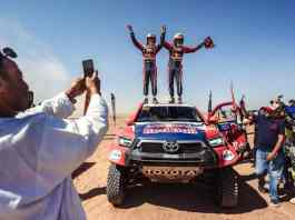 Rallye du Maroc 2021 - Nasser Al-Attiyah et Mathieu Baumel