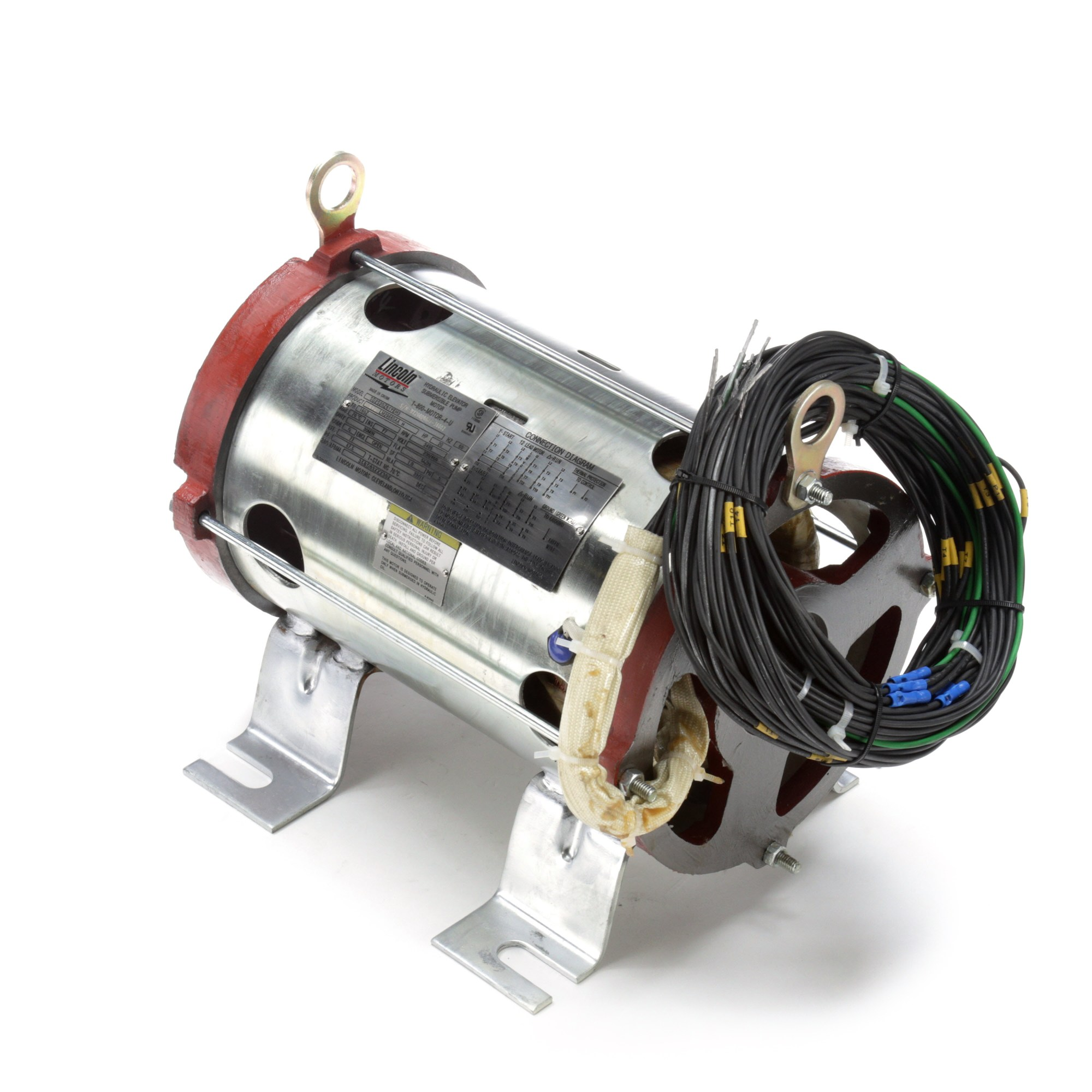 hight resolution of leeson electric lm29660 20hp submersible hydraulic elevator pump motor