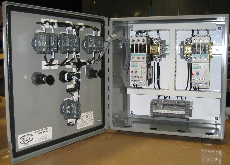hight resolution of duplex pump panel siemens starters