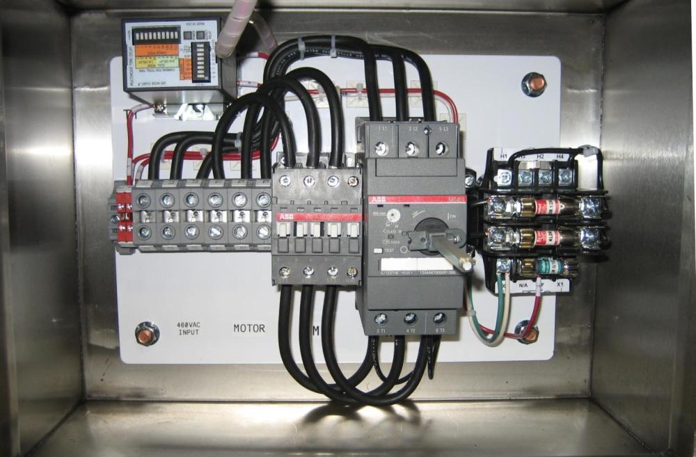 medium resolution of single pump panel abb