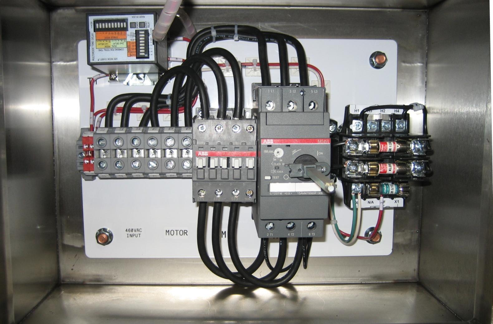 hight resolution of single pump panel abb