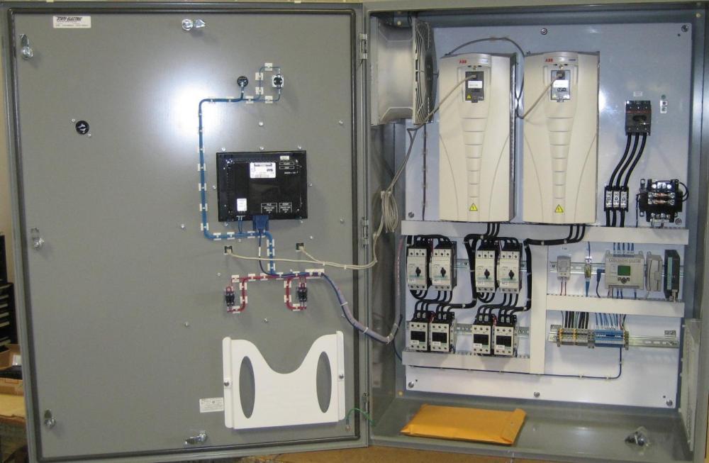 medium resolution of constant pressure pump panel