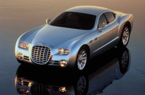 Develado en la exhibición de Detroit en enero de 1998, el Chrysler Chronos fue presentado como un eventual carro insignia para Chrysler. Foto: DaimlerChrysler