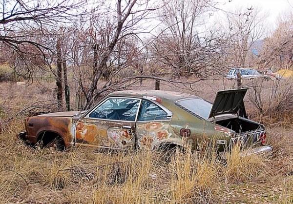 Mazda RX3 rotor rotativo rotary engine 13b 12a Cortez Colorado Four Corners Andres O'Neill photo