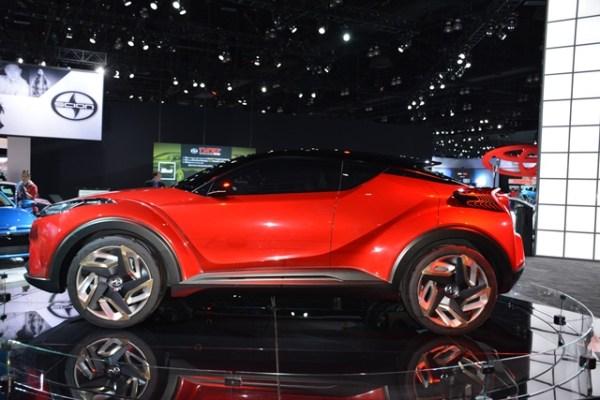 Scion C-HR Concept Los Angeles Auto Show Andres O'Neill photo 04
