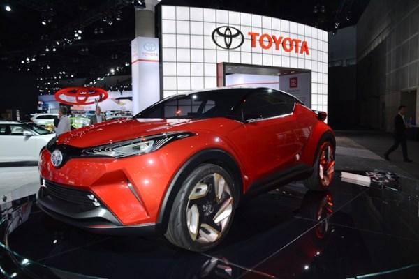 En el auto show de Los Angeles, Scion presentó este prototipo en el que combina a un cupé con una guagua SUV compacta. FOTOS: Andrés O'Neill, Jr.