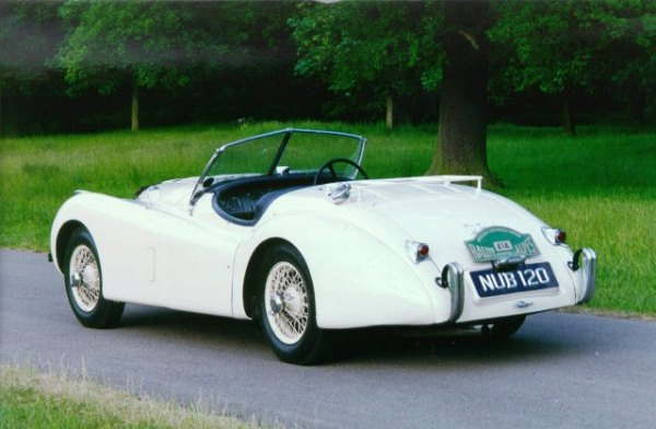 1950 XK120 Alpine Gold Cup Winner 1952.