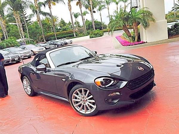 Fiat organizó un evento de prueba de manejo para su nuevo 124 Spider en el área de San Diego, California. Fotos: Andrés O'Neill, Jr.