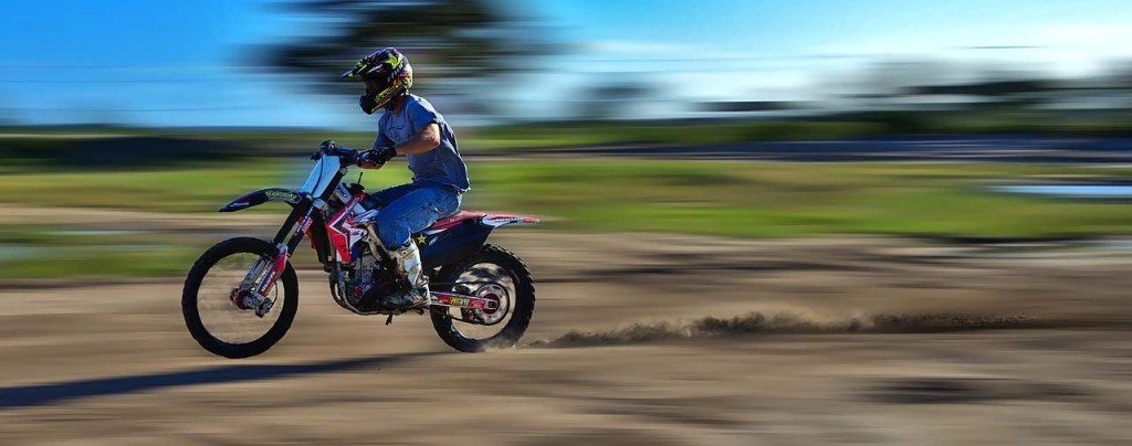 Dirt bike - Motorcycle protective gear article