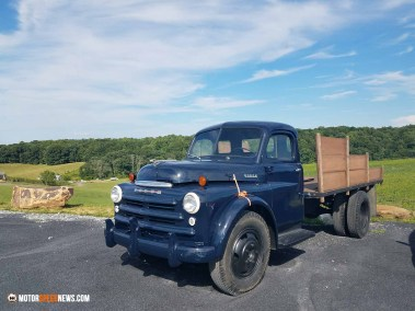 Motor Speed News Photography - Classic Dodge Truck in Virginia