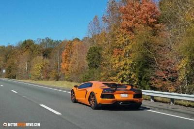 Motor Speed News Photography - Lamborghini in Virginia