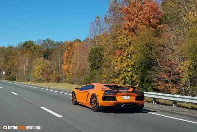 Motor Speed News Photography - Lamborghini in Virginia