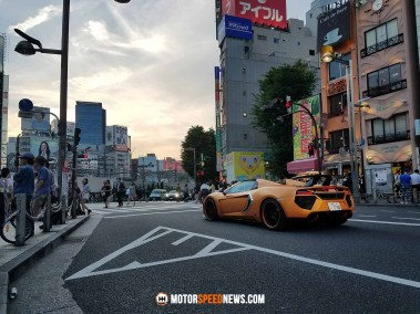 McLaren MP4-12C Spider - Tokyo, Japan   Motor Speed News Photography