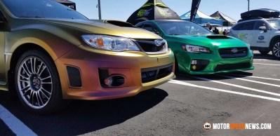 Motor Speed News Photography - Subarus at Rocky Mountian Subaru Festival