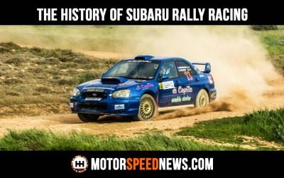 The History Of Subaru Rally Racing