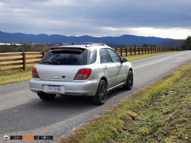 Wills Built 2002 WRX Wagon - Harrisonburg VA - Motor Speed News Photography