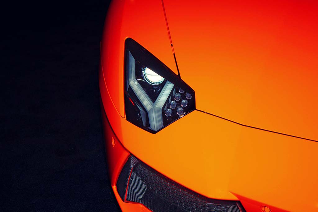20 Quotes About Cars And Driving - Lamborghini Headlights