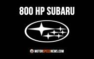 Check Out This 800 HP Subaru Hillclimb Beast