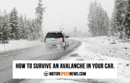 How to survive an Avalanche In Your Car