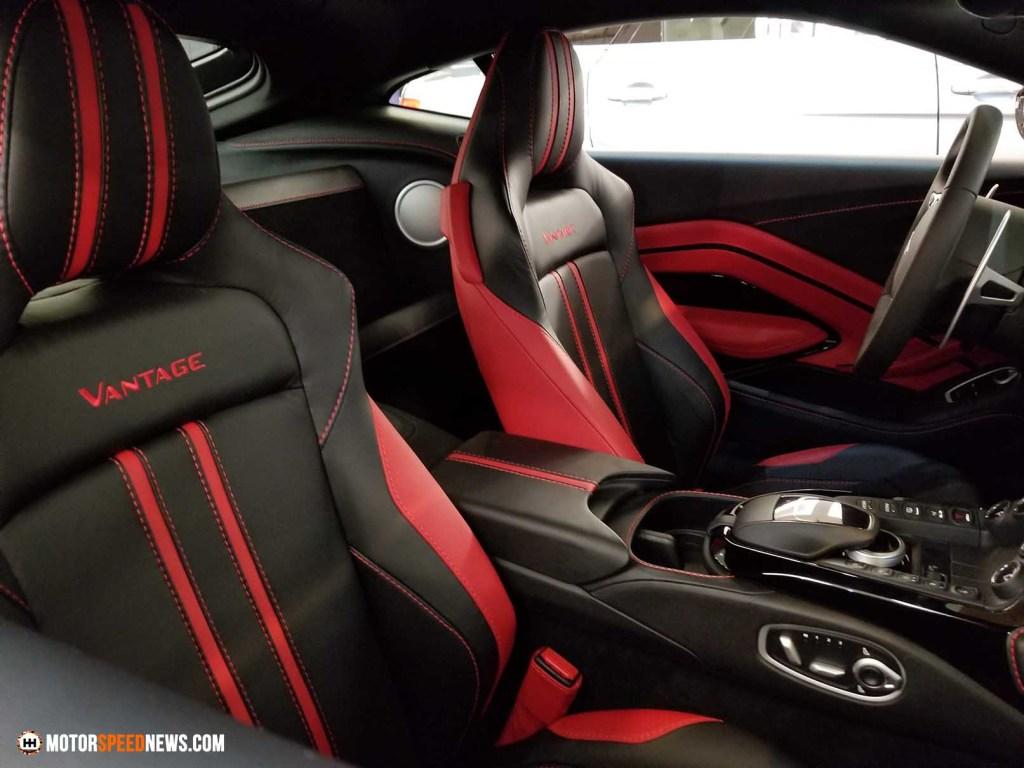 Aston Martin Vantage Interior 1
