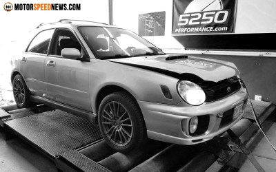 First Dyno Day For The WRX Build!