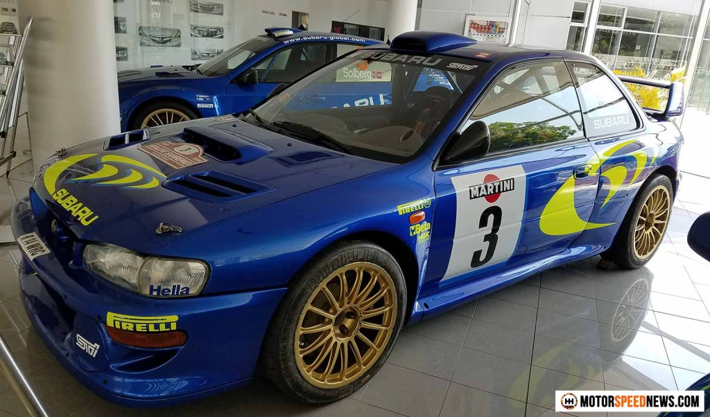 Mitaka Subaru In Japan - Colin McRaes Rally Car