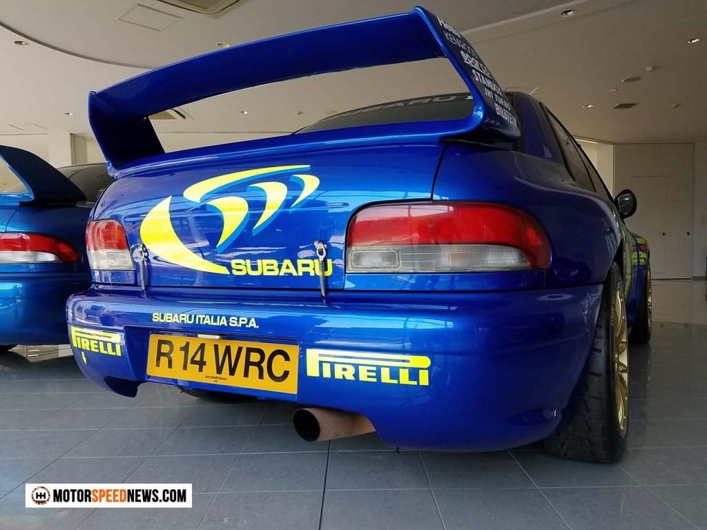 Mitaka Subaru In Japan - R14 WRC Subaru Rally Car