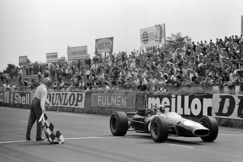 1967 French Grand Prix race report: Brabham conquers Le Mans - Motor Sport  Magazine