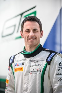 Northern Ireland's Steven Kane is an established member of the Bentley team.