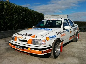 The ex Bertie Fisher Sierra Cosworth now refurbished by C-Sport