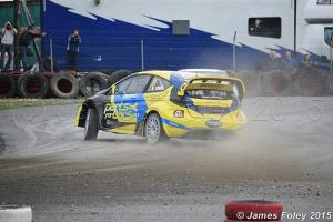 Derek Tohill struggled for most of the day- but was great to watch! Image from James Foley