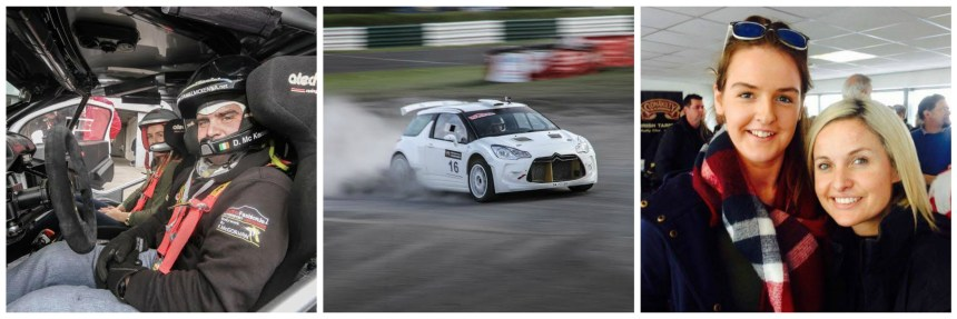 We brought Motorsport Ireland Young Driver nominee Nicole Drought to the launch. It's fair to say she had fun!