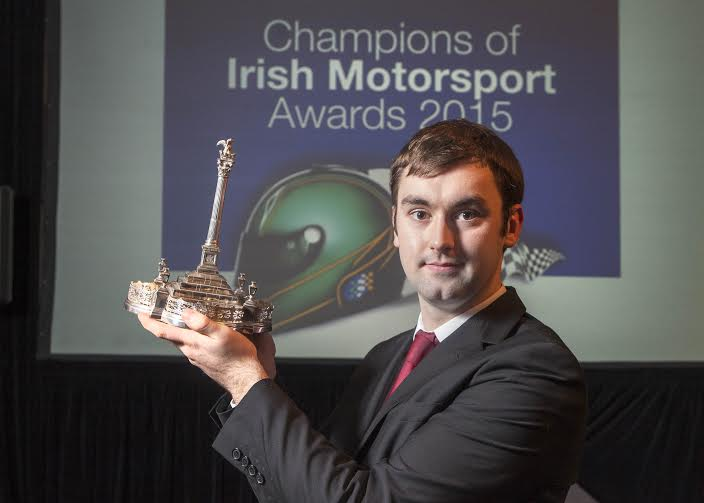 The Dunlop Sexton Trophy for Young Racing Driver of the Year was awarded to Jake Byrne from Co Kildare.